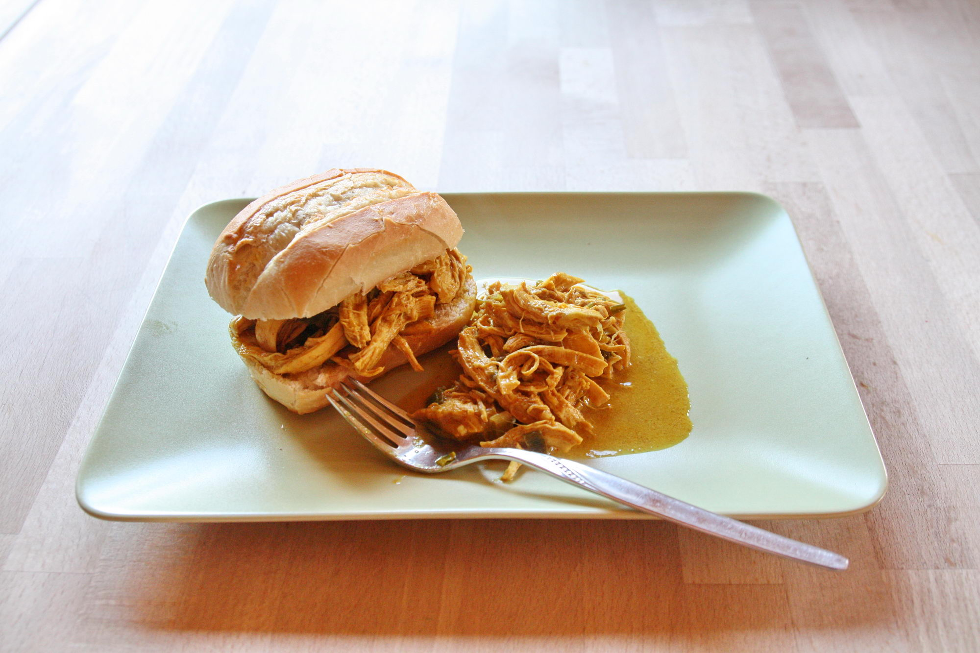 Tandoori Pulled Chicken im Instant Pot